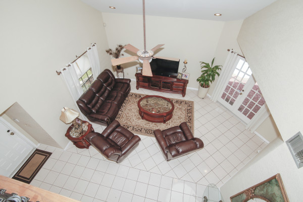 1010 NW 93rd Ave. Plantation Balcony View of Living Room